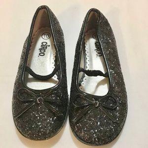 Circo black Sparkly Mary Jane dress shoes Sz 10
